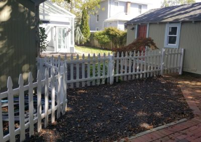 FOR CHILD SAFETY, ADD EXTENSION TO POOL GATE SURROUNDING FENCE.